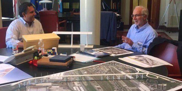 Il nuovo Ponte-memoriale secondo Renzo Piano, 43 vele di luce per le 43