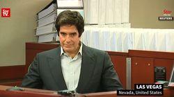 David Copperfield nega ogni responsabilità per le ferite riportate dalla persona