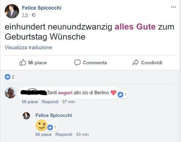 Polemica su vicepreside di Ascoli perché su Facebook fa gli auguri a Hitler. Si difende: