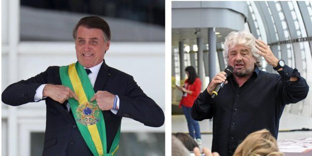 Beppe Grillo attacca Bolsonaro: