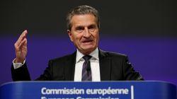 Il commissario Ue Oettinger: