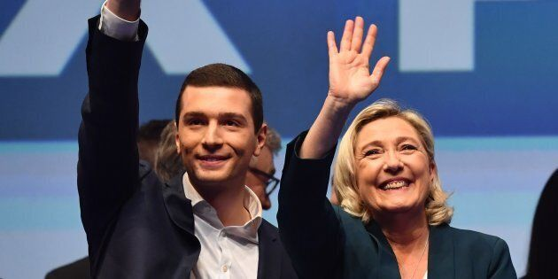 Marine Le Pen lancia un 23enne