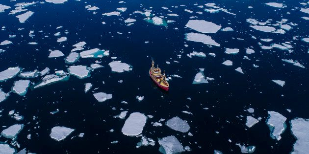 Scioglimento ghiacciai, dal Polo Nord ennesimo allarme