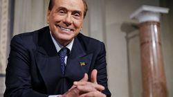 Berlusconi ritratta: