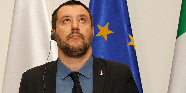 Matteo Salvini contro la Bce