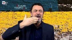 Crozza diventa Salvini:
