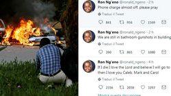 Nascosto nell'hotel sotto attacco a Nairobi twitta: