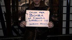 Bomba alla pizzeria Sorbillo a Napoli: