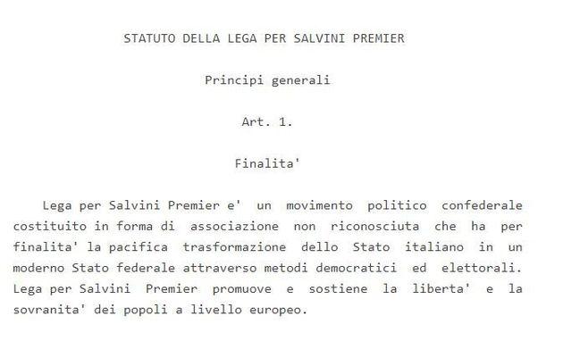 Il nuovo partito già c'è. Lega per Salvini