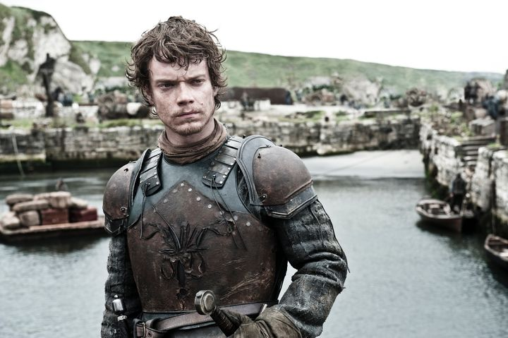 Theon Greyjoy, photographed a few years ago.