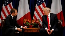 Accordo nucleare con l'Iran, dazi commerciali e Siria: Macron arriva a Washington per 'pressare'