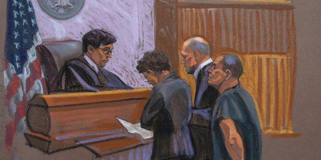 Braccio destro di El Chapo al processo,