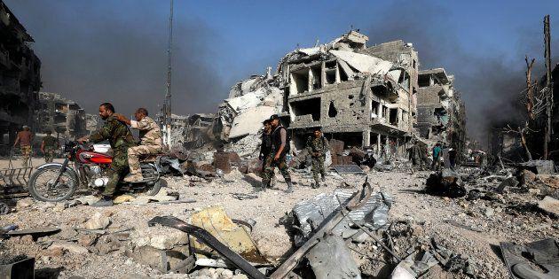 Bombe nel cuore di Damasco. Messaggio da Israele ad