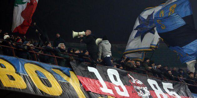 Nino Ciccarelli, capo curva dell'Inter, arrestato per gli scontri di Santo Stefano che costarono la vita...