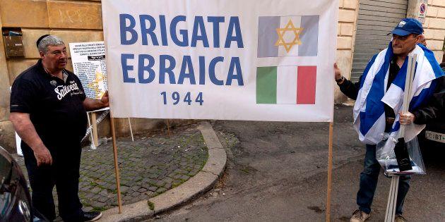 Contestata la Brigata ebraica nel 25 aprile