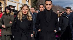 Propaganda a Rigopiano. Di Maio sfila con la candidata Marcozzi, Salvini promette 10 milioni. E l'arcivescovo di Pescara se n...