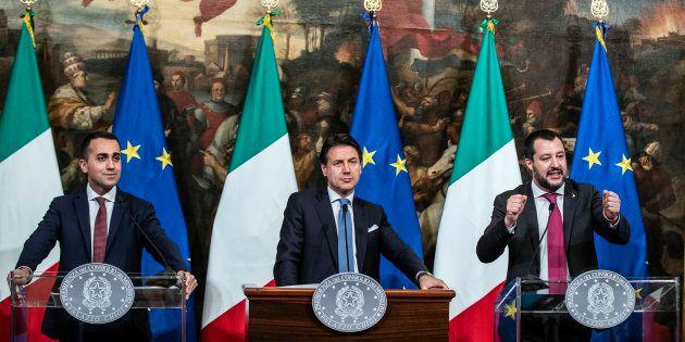Luigi Di Maio,Giuseppe Conte e Matteo