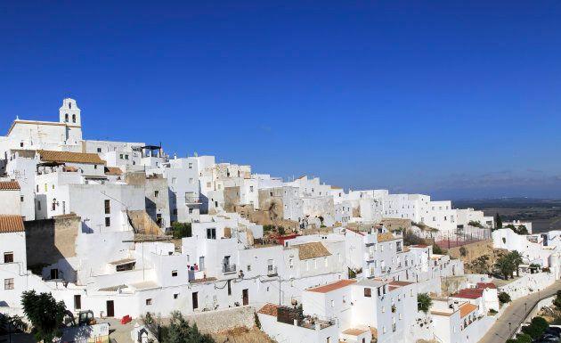 Pueblo blanco, Vejer de la Frontera, Cadiz Province,