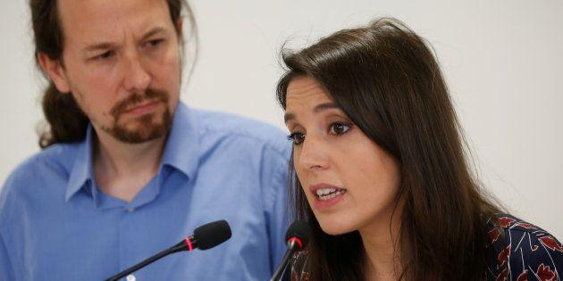 Irene Montero, moglie di Pablo Iglesias: