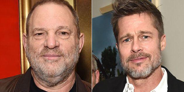 Brad Pitt produrrà un film sullo scandalo di Harvey