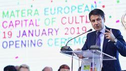 Conte sui Sassi: accoglienza tiepida tra i notabili della città europea della cultura 2019 (Matera, dall'inviata A.