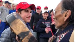 Studente cattolico faccia a faccia con il nativo americano. Ma sulle responsabilità ci sono versioni
