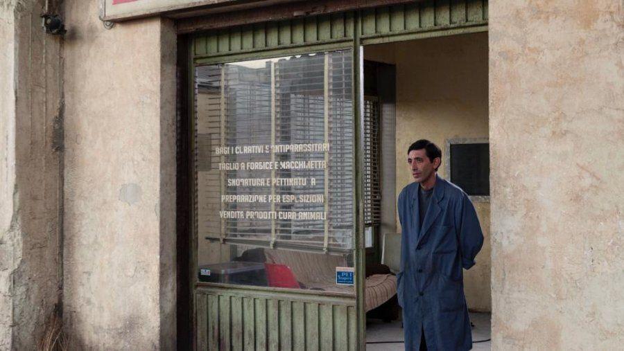 Una foto di scena del film di Matteo Garrone, 'Dogman', selezionato in concorso ufficiale al Festival...