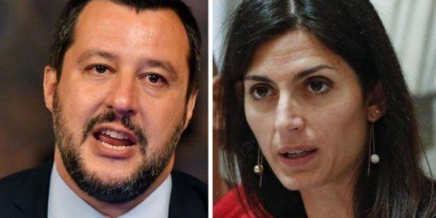 Ex Penicillina, Raggi accusa Salvini sulla gestione post-sgombero, il ministro la sconfessa e