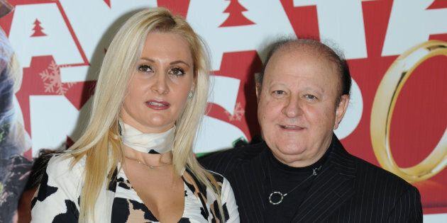 presentazione del film A Natale mi sposo nella foto Loredana De Nardis, Massimo Boldi