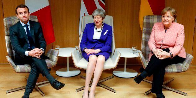 Merkel, Macron e May: