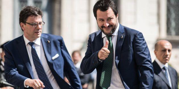 Salvini scappa dai pm, via segnata: verso il nuovo partito