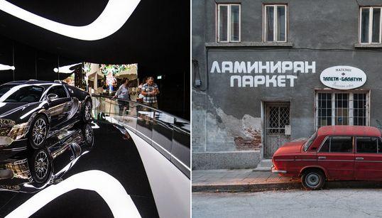 La città più ricca e la più povera d'Europa a confronto.