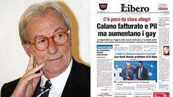 Feltri difende il titolo di Libero: