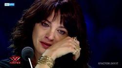 Asia Argento in lacrime a X Factor per