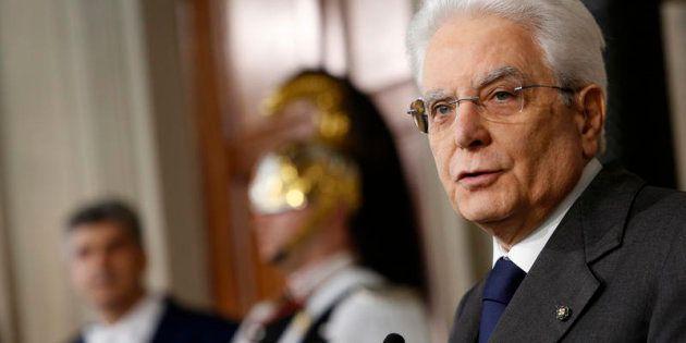 13/04/2018 Roma. Quirinale, secondo giro di consultazioni per la formazione del nuovo governo. Nella...
