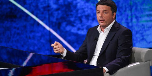 MILANO, LOMBARDIA, ITALY - 2018/04/29: Matteo Renzi, politician, former Secretary of the Democratic Party,...