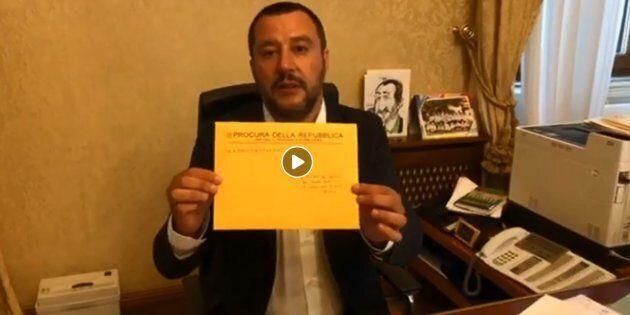 Matteo Salvini indagato per sequestro di persona