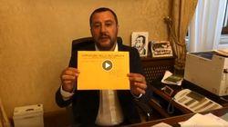Salvini indagato in diretta