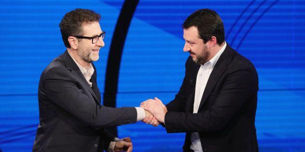 Fazio contro Salvini: