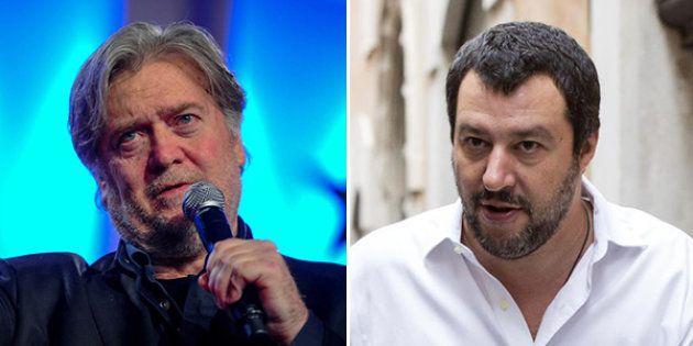 Bannon assolda Salvini per prendersi