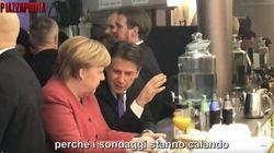 L'audio di PiazzaPulita del dialogo tra Merkel e Conte: