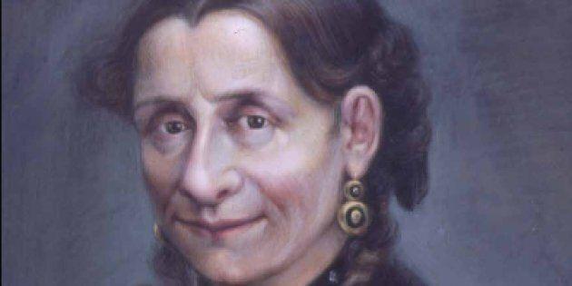 Ritratto della marchesa Vittoria Mosca eseguito da Cesare Gaj e conservato presso i Musei Civici di