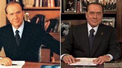 Berlusconi #25yearschallenge. 25 anni fa la discesa in campo con