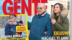 Giancarlo Magalli ha trovato l'amore? Accanto a lui c'è la 22enne