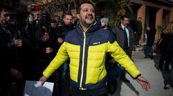 Salvini come Berlusconi: all'attacco dei