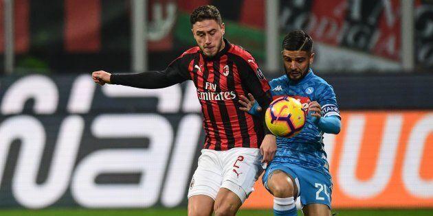 Milan-Napoli a San Siro, napoletani subito accolti da cori