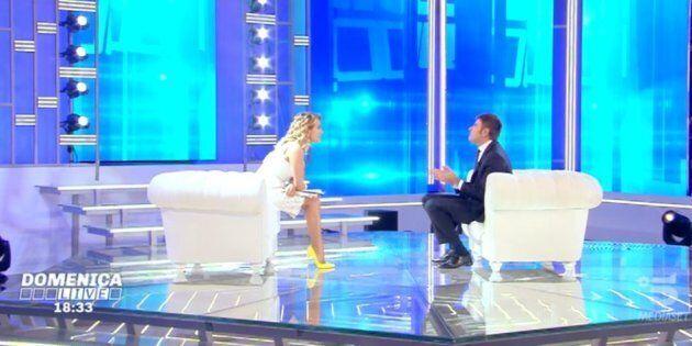 Alessandro Di Battista a Domenica Live sfida Matteo Salvini:
