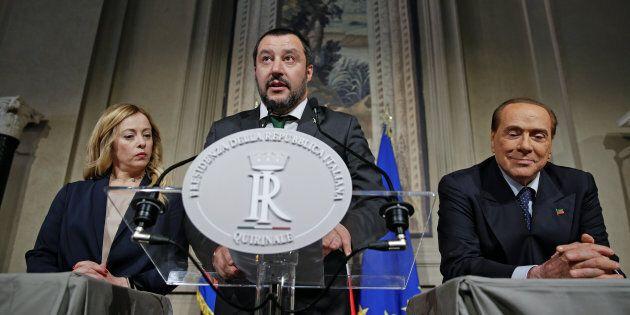 Salvini pronto al preincarico. Il centrodestra unito chiederà un mandato per cercare
