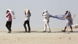 La tempesta di sabbia in India ha provocato oltre 100