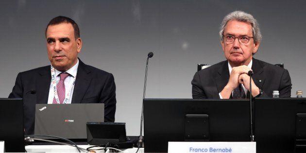 L'ira di Franco Bernabè per le allusioni antisemite durante l'assemblea Tim: